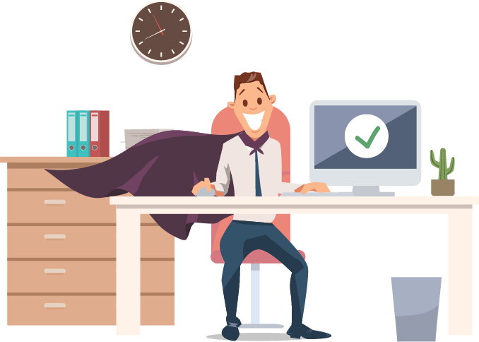 Become a sales super hero with dink