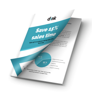 Save 15% of sales time - dink