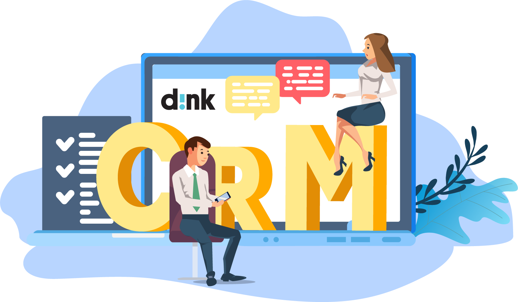 CRM solution for sales - dink