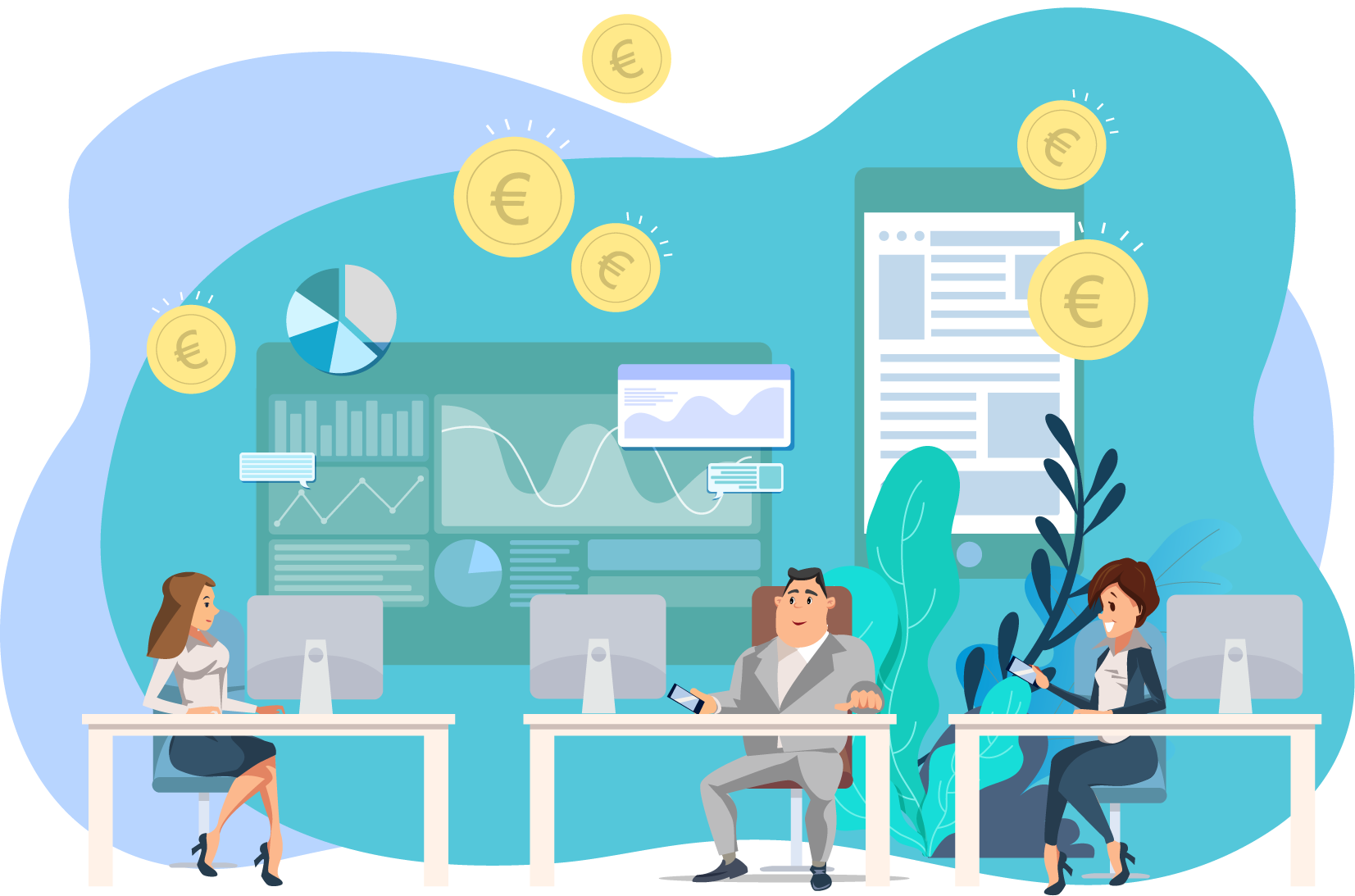 sales solution for sales with dink